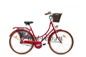 Велосипед городской  Аист Amsterdam красный
