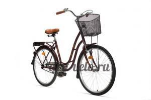 городской велосипед аист 26-210 бежевый
