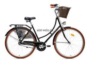 городской велосипед Аист Amsterdam черный