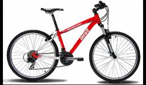 горный велосипед zebra красный Аист