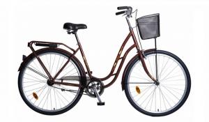 городской велосипед с корзинкой 26-210 Аист