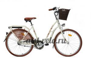 городской велосипед Tango 26 белый