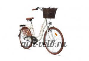 велосипед городской белый Аист