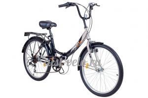 складной велосипед Аист 7 скоростей