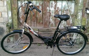 фото складной велосипед аист