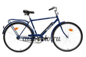 городской велосипед 28-130 синий аист