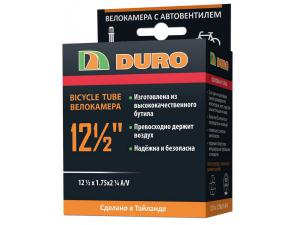 "Велокамера 12"" DURO 12,1/2х1,75х1,1/4 А/V"