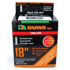 """Велокамера 18"""" DURO 18х1,75/2,125 А/V"""