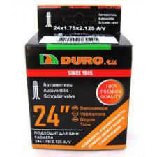 """Велокамера 24"""" DURO 24х1,75/2,125 А/V"""