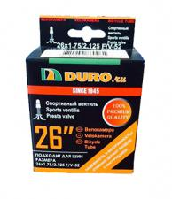 "Велокамера 26"" DURO 26x1,75/2,125 F/V-52/DHB01017 (Presto)"