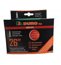 """Велокамера 26"""" DURO 26x2,125 A/V-48 самозаклеивающаяся/DHB01013"""