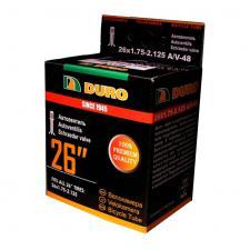 "Велокамера 26"" DURO 26х1,75/2,125 А/V-48 двойной обод/DHB01008"