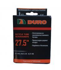 "Велокамера 27,5 ""DURO 27,5x2,20/2,35 A/V"