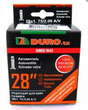 "Велокамера 28"" DURO 28x1,75/2,00 A/V/DHB01021"