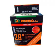 "Велокамера 28"" DURO 28x1.50 (37-622) A/V/DHB01028"
