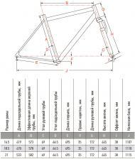 размер рамы велосипед круизер Аис