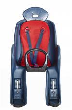 Велокресло детское с креплением на багажник, накладка с рисунком VS 801 green