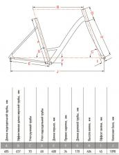 рама велосипед Tracker Аист