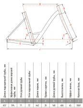 рама велосипед Аист Jazz 2.0