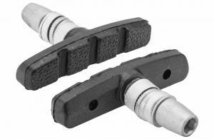 Колодки тормозные X60 для ободных тормозов, размер 60 мм х 0 град., резьбовые