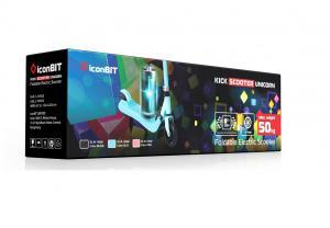 Электросамокат  Iconbit Kick Scooter Unicorn для детей