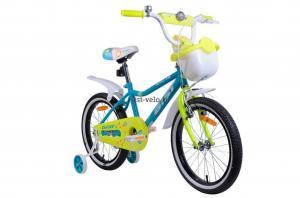 детский велосипед Аист для девочек Wikki 20