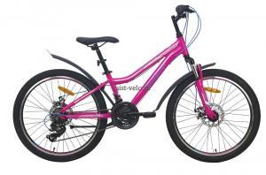 Велосипед горный AIST Rosy Junior 2.1 24  розовый