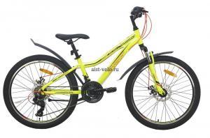 Велосипед горный AIST Rosy Junior 2.1 24 желтый