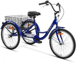 Велосипед Аист трехколесный для взрослых грузовой 1.1