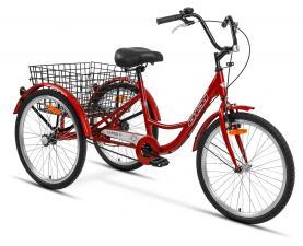Велосипед Аист трехколесный для взрослых грузовой 1 ск.
