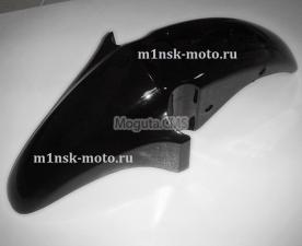 Крыло переднее цвет черный