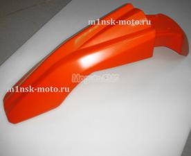 Крыло переднее, цвет оранжевый